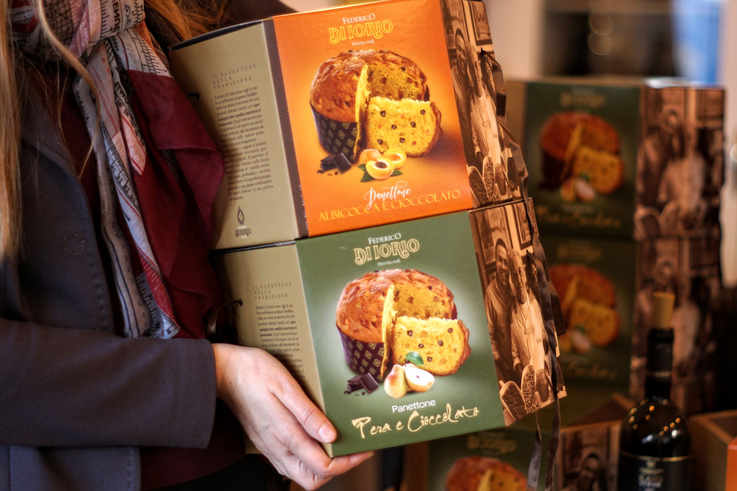 Panettone in scatola