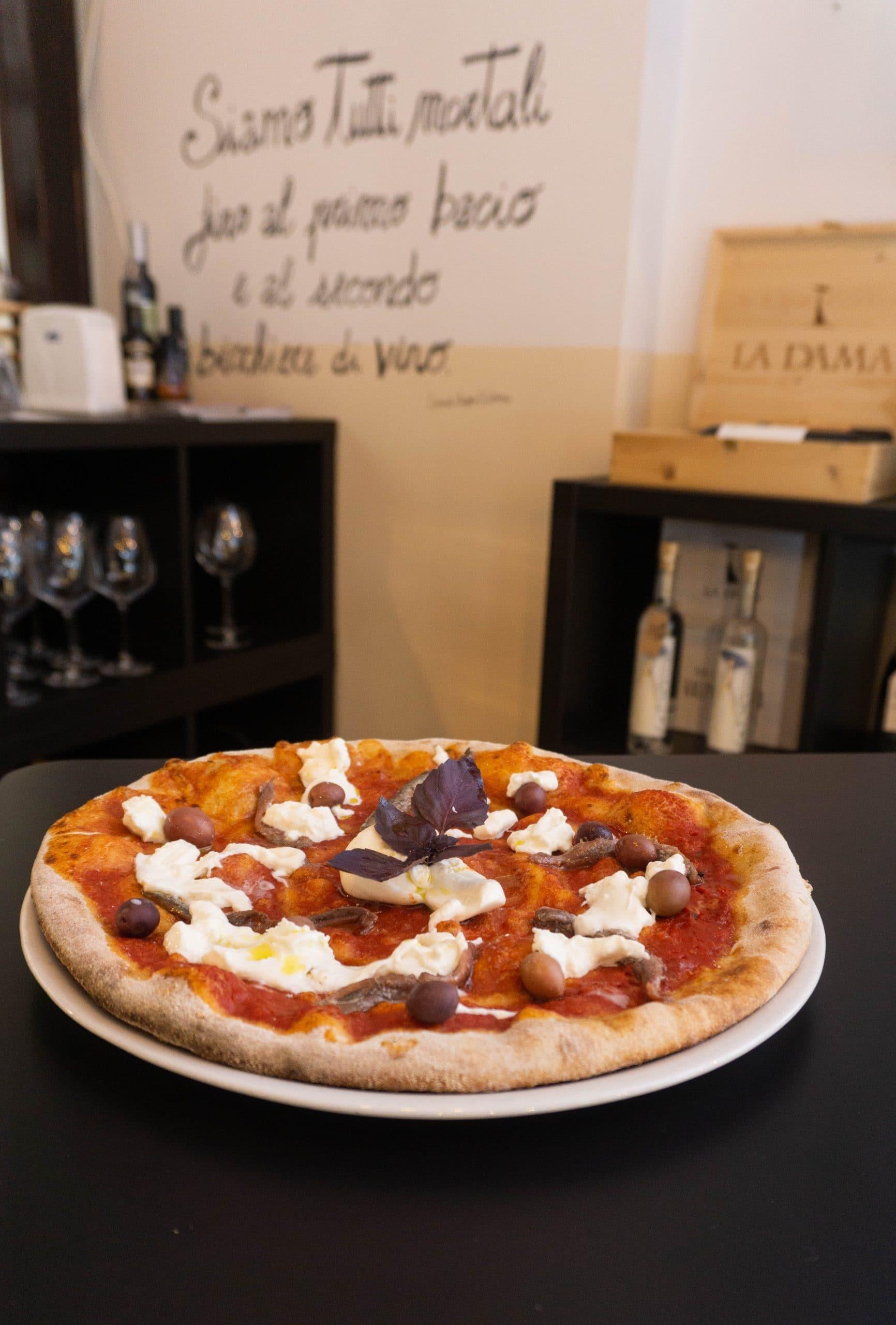 италианска пица Olio d'oliva Sofia