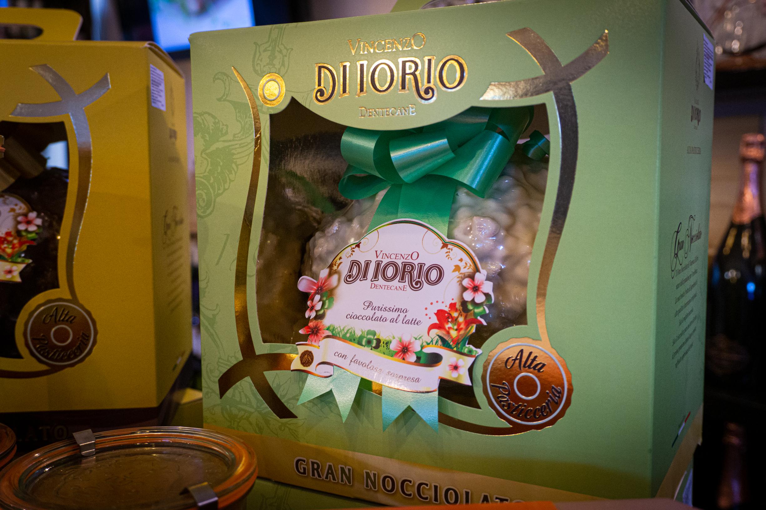 Шоколадово яйце с изненада в 100% Italiano