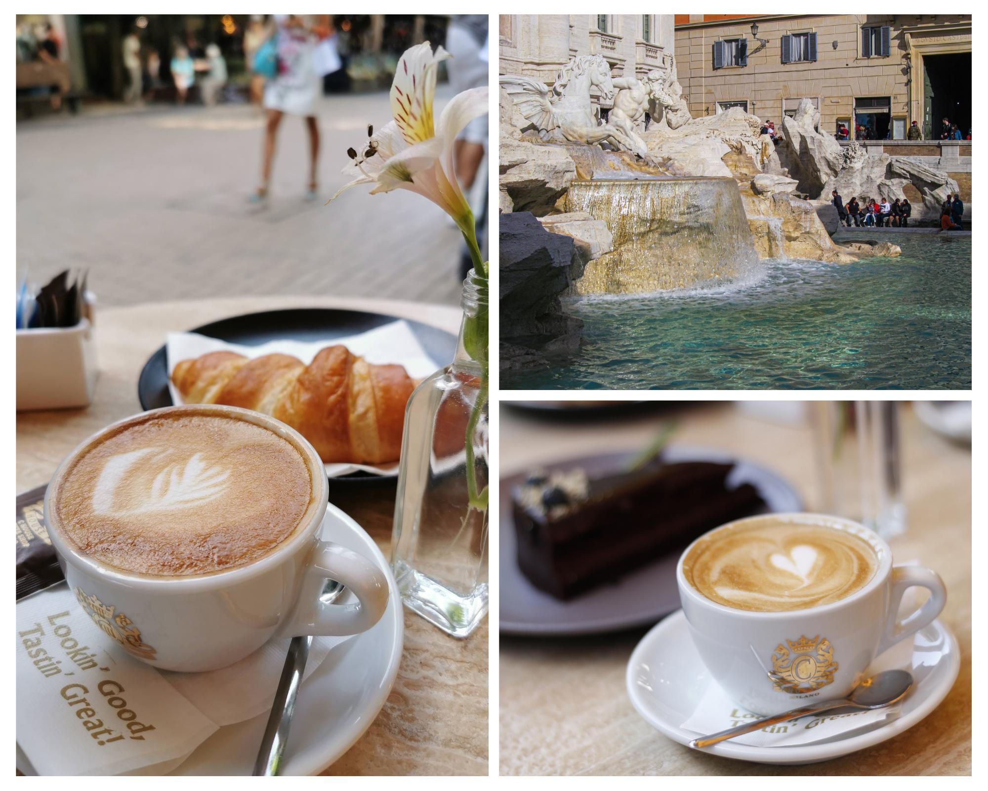 Cappuccino в Social Cafè Bar&Kitchen и Рим